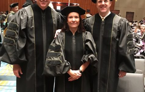 Dr. Gifford, Dr. Bowes, and Dr. Abel graduated from VCU with doctorate degrees on Saturday, May 11, 2019.