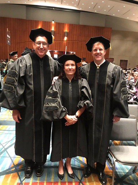 Dr.+Gifford%2C+Dr.+Bowes%2C+and+Dr.+Abel+graduated+from+VCU+with+doctorate+degrees+on+Saturday%2C+May+11%2C+2019.