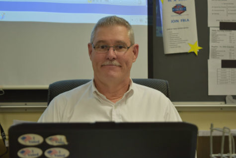 Mr. David Wilson Named Midlothian High School Teacher of the Year
