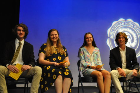 Freshmen attend first high school awards assembly