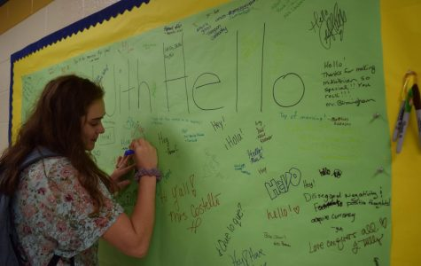 Start With Hello connects Midlo students