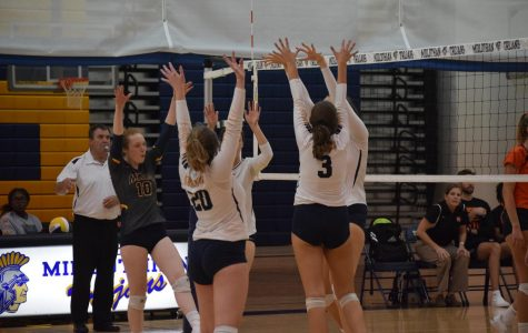 Girls Volleyball emerges victorious on senior night
