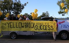 Homecoming parade follows the yellow-brick road