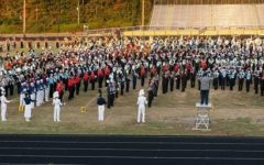 Trojan Marching Band shines at County Band Night