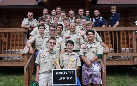 Midlo Boy Scouts brave the elements