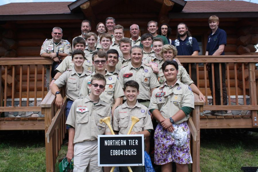 Boyscouts+from+Troop+897+prepare+for+the+Northern+Tier+trip.+