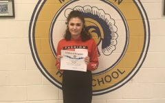 Hicks named Midlo's September student of the month
