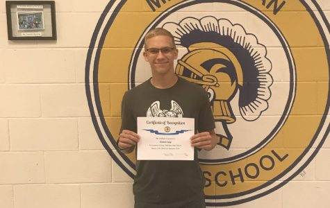 Long earns @GoMidlo September male student of the month