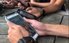 Mario Kart Tour races through the phones of Midlo students