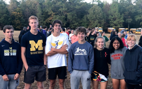 Cross Country sends off seniors
