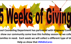 Midlothian High School kicks off Five Weeks of Giving initiative