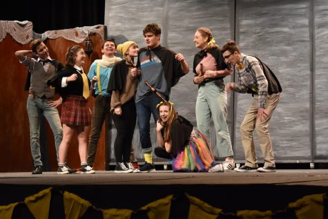 Midlo Theatre presented Puffs November 21-23, 2019.