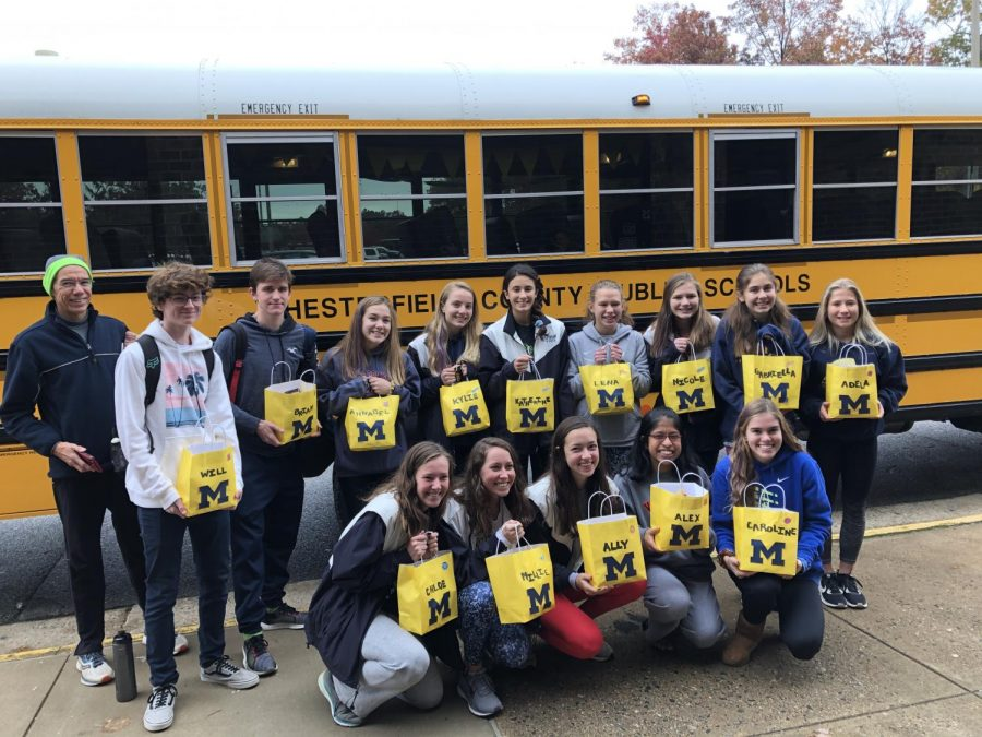 Midlothian runners prepare for XC States.