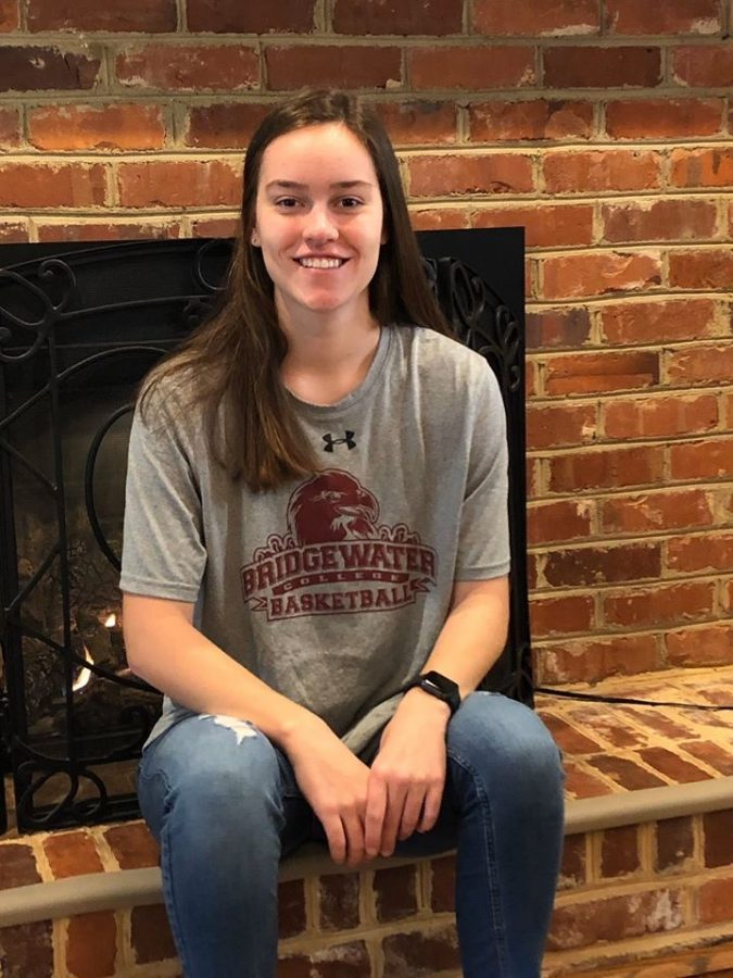 Senior Katie Gaeth verbally commits to play basketball at Bridgewater College.