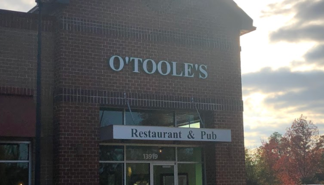 O'Toole's Restaurant and Pub opens on the corner of Charter Colony and Midlothian Turnpike in the village of Midlothian.