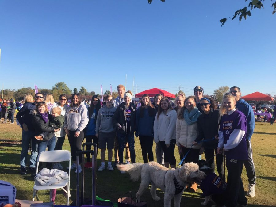 The+Midlo+chapter+of+MADA+attend+the+Walk+to+End+Alzheimer%27s+on+November+2%2C+2019.