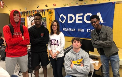 Midlo Celebrates Virginia DECA Day