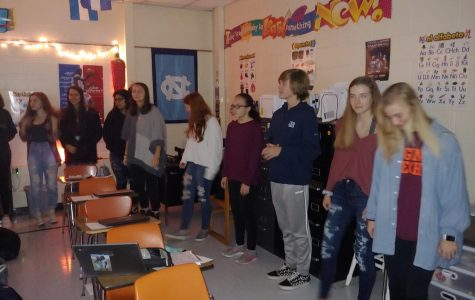 Midlo Spanish students dance to learn during Active Classrooms Week.