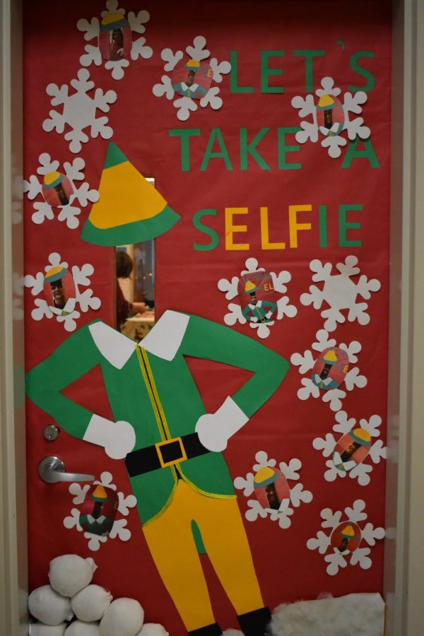 2019 Midlo Holiday Door Decorating Contest: Mrs. Randriansolo & Mrs. Harbula, Special Education Department