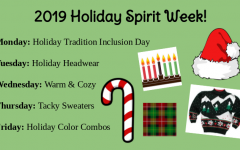 Midlo dresses up exam week for the holidays