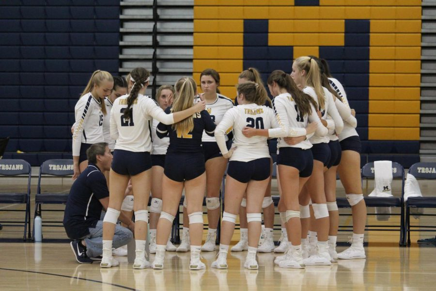 Diana Wesolosky, Mary Courtney Hettinger, Morgan Meyers, and Olivia Ibanez earn All-Region honors for Girls Volleyball in 2019.