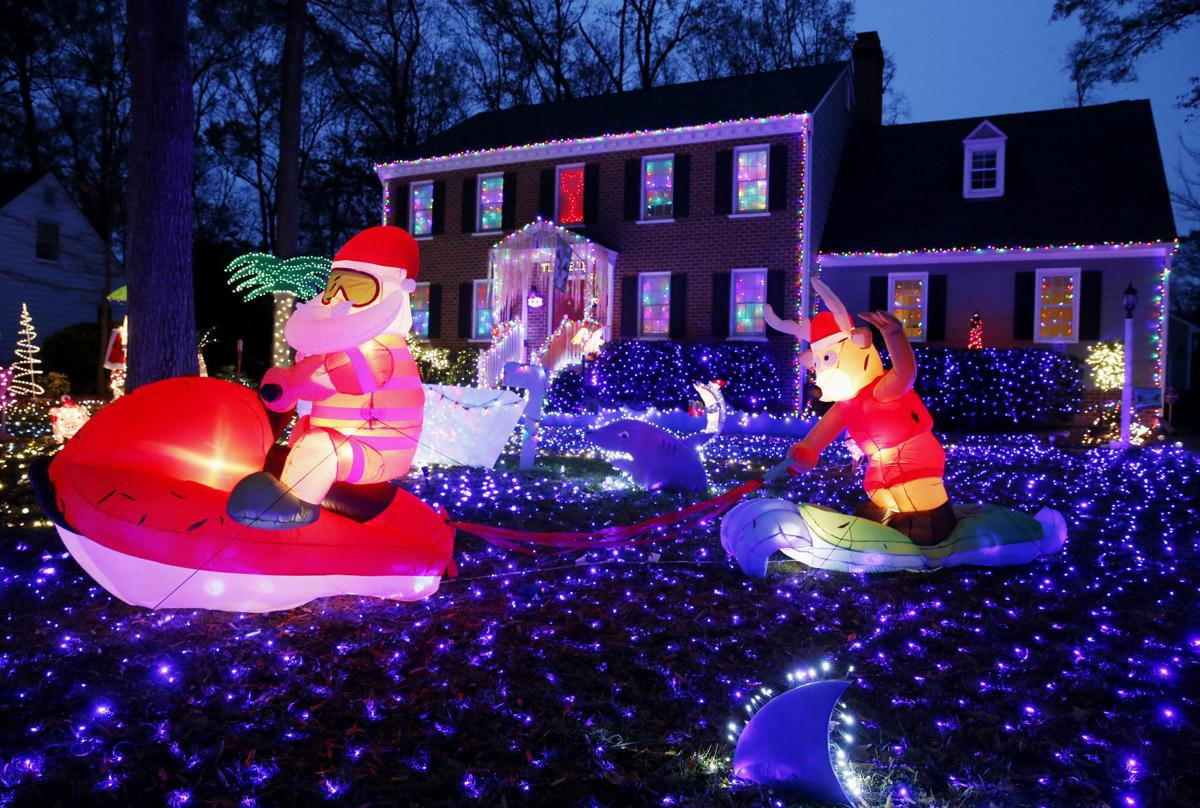 Visit holiday lights attractions, such as Christmas Street, to start a new tradition.