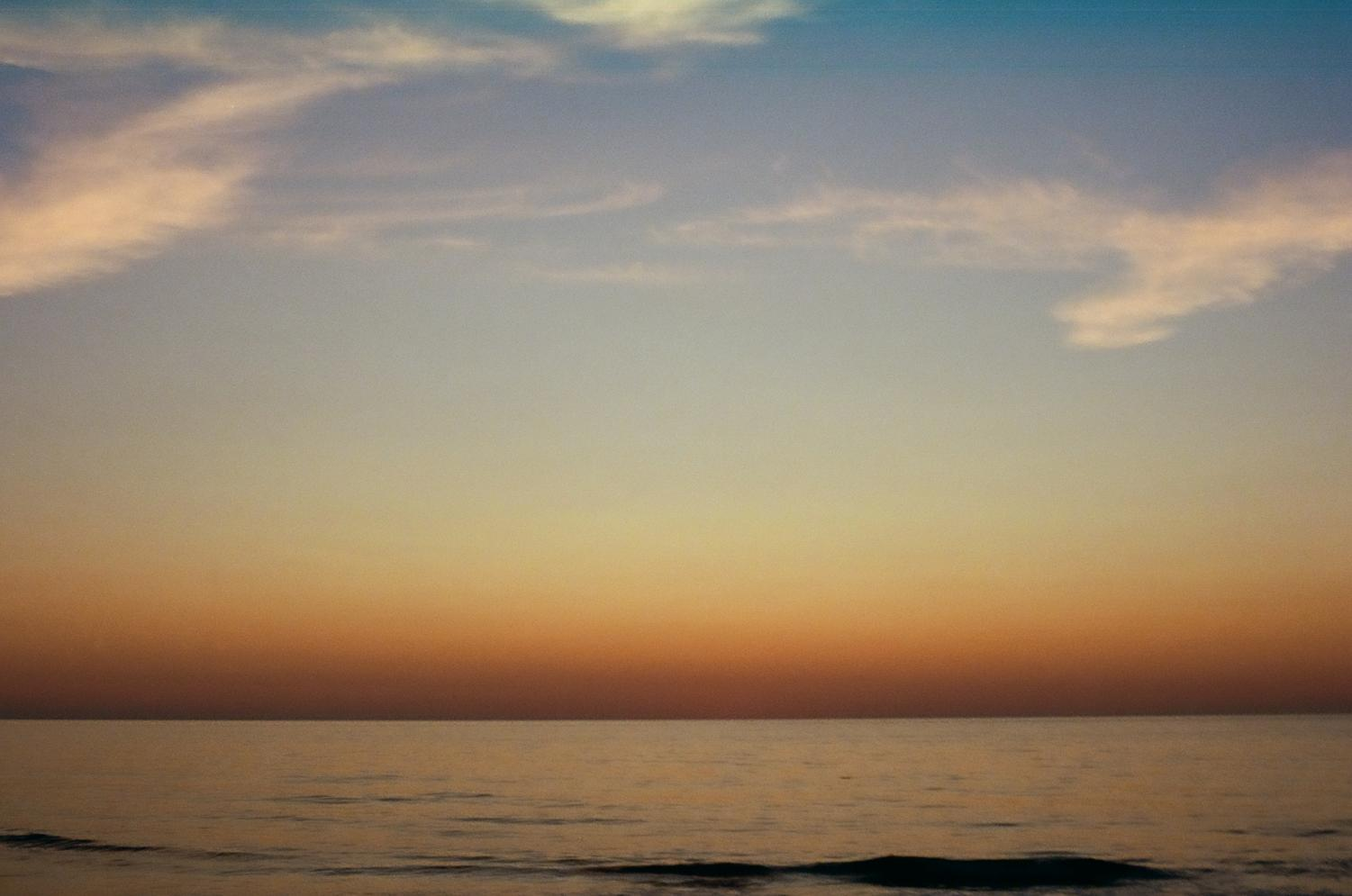Calming images- much like this one- can help settle the mind and lessen overwhelming thoughts.