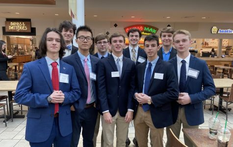 DECA reigns in 34 state qualifiers at 2020 district competition