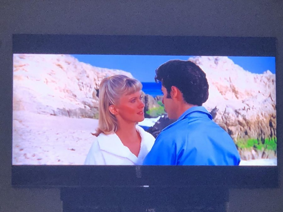 In the movie Grease, Sandy and Danny say goodbye to each other as summer ends.