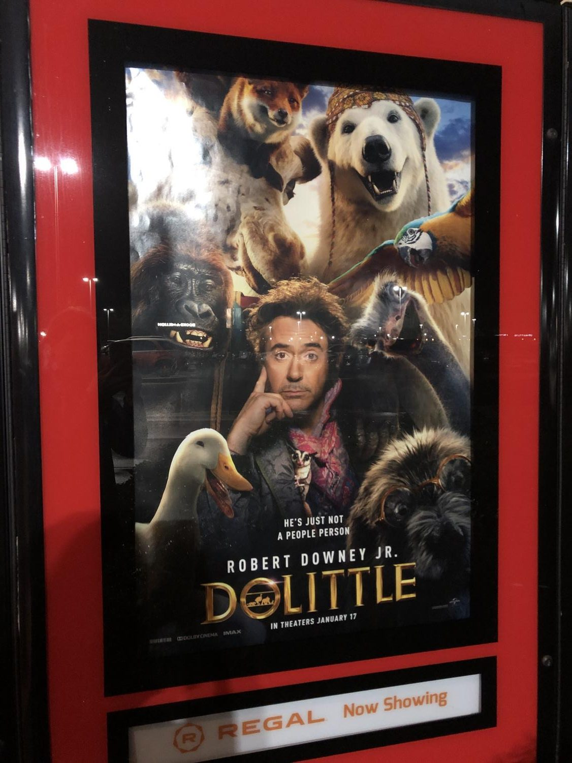 Dolittle enters theaters on January 17, 2020.