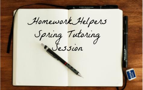 Homework Helpers Spring Tutoring Session seeks volunteers.