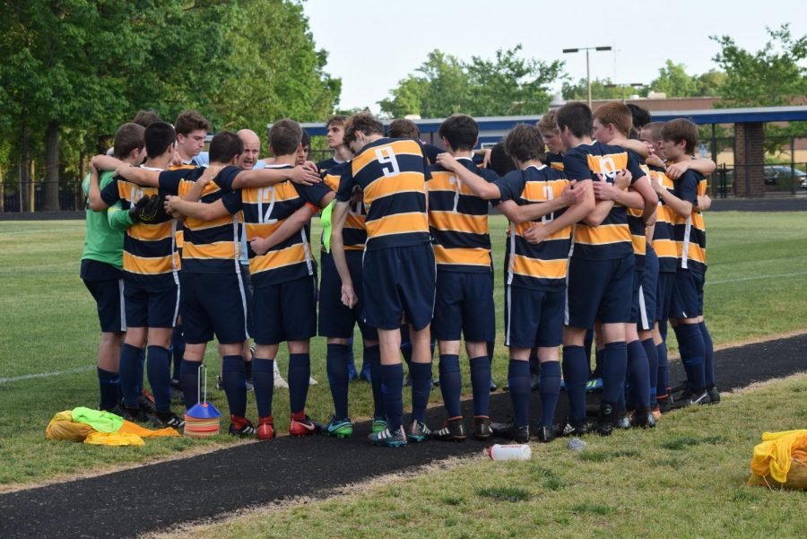 Soccer players, as well as other athletes, prepare for the 2019-2020 Spring Sports Season.