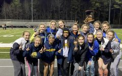 The Midlo Girls claim victory at the VHSL Region 5B Indoor Track and Field Championships.