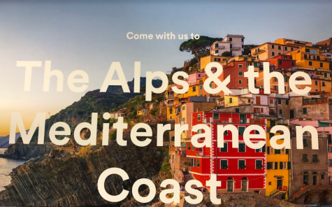 An informational meeting for the 2021 Spring Break Alps & Mediterranean Coast Experience will take place on February 27, 2020 at the Midlothian Public Library at 6:00 p.m.