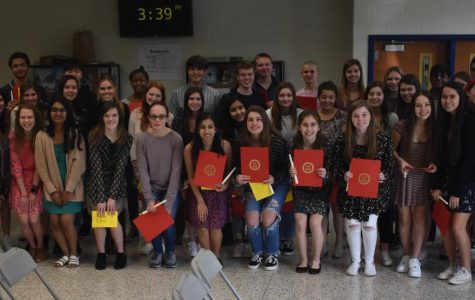 2020 Midlothian Spanish National Honor Society Induction