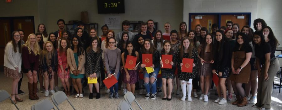 2020+Midlothian+Spanish+National+Honor+Society+Induction+