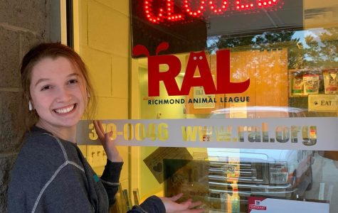 Ava Son routinely takes part in volunteering at Richmond Animal League.