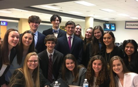 Members of the Midlothian High FBLA chapter dominate regional competition.
