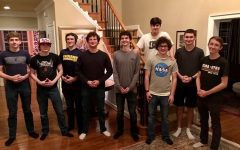 Trey Powers and his friends host a Minecraft graduation.