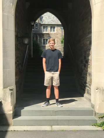 Jakob Marshall tours colleges in preparation for his senior year.