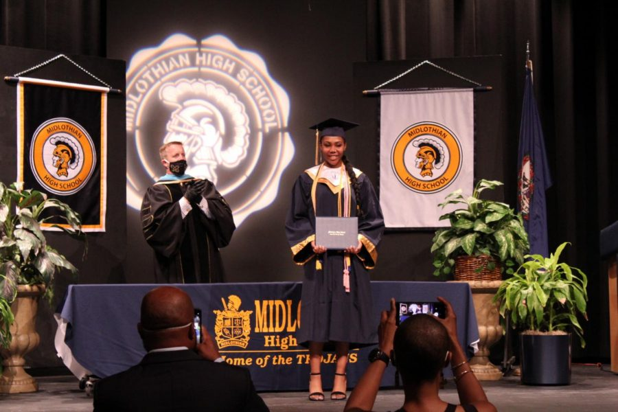 2020 Midlothian High School Graduation