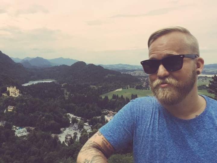 Mr. Andrews visits the Neuschwanstein Castle in Bavaria, Germany.