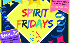 Join us for Midlo Spirit Fridays.