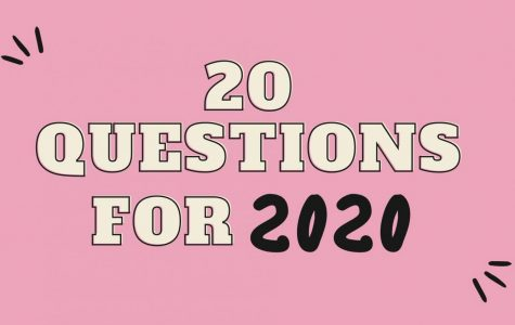 20 questions for 2020 with Senior Class President Blake Longest