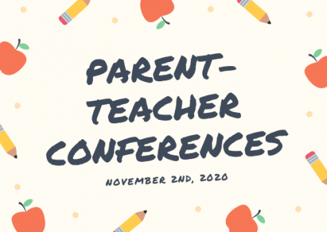 Midlo parent-teacher conferences are scheduled to take place on November 2, 2020, from 11:00 a.m. to 7:00 p.m.