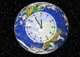 The clock's call to action spreads awareness on the consequences that climate change holds on the Earth.
