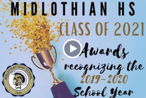 Midlothian High School honors the Class of 2021 with 2019-2020 Awards Ceremony