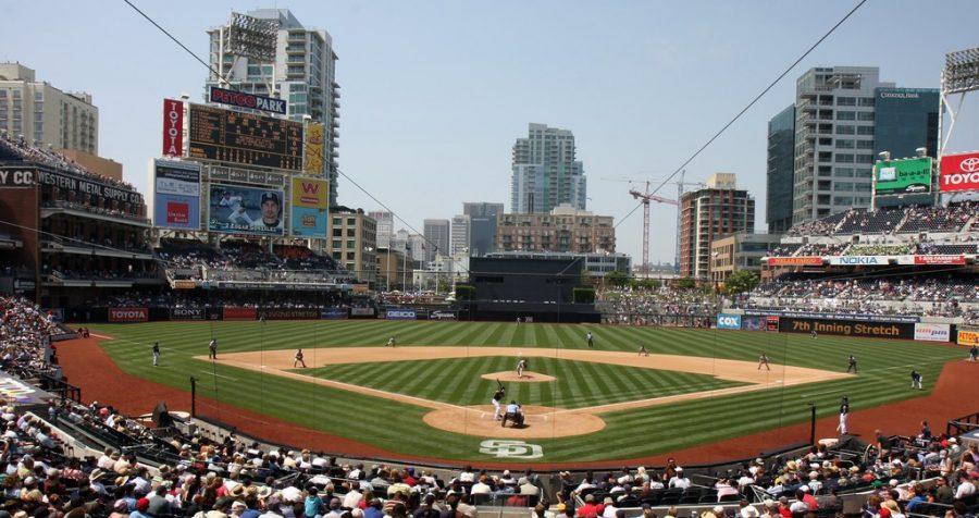 Petco+Park+in+San+Diego%2C+California+has+the+rare+honor+of+hosting+the+2020+MLB+Postseason.+
