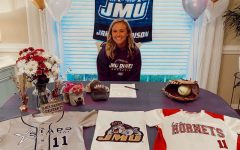 Abbie Campbell signs to play softball at James Madison University.
