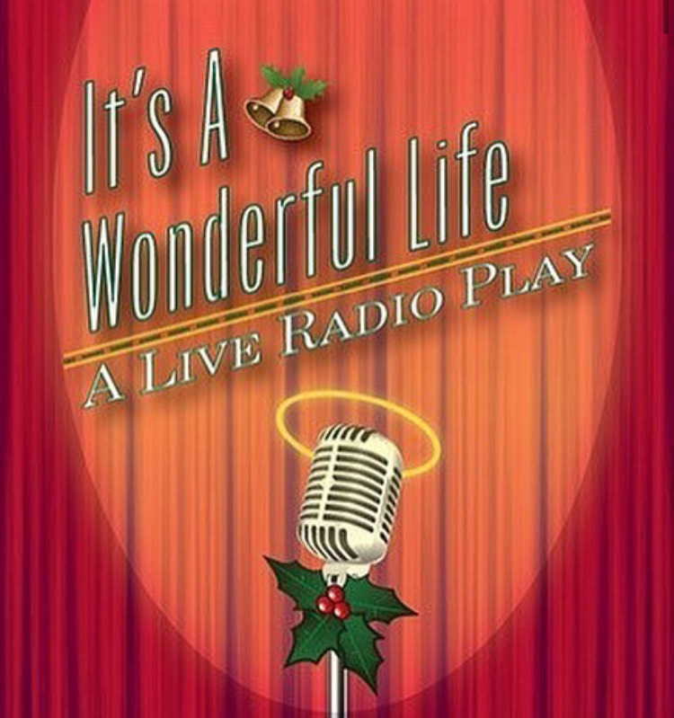 The It's A Wonderful Life Radio Show Poster
